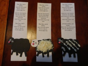 baa baa black sheep craft
