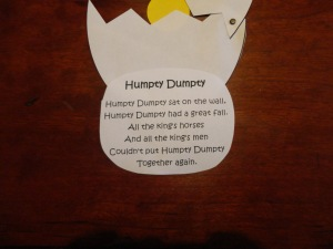 kids humpty dumpty craft