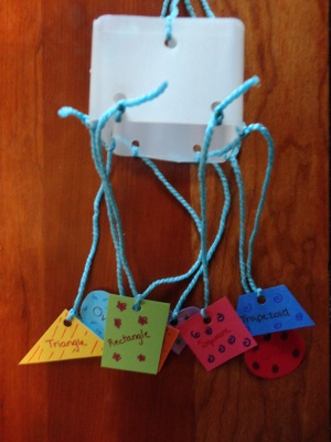 milk carton shape craft
