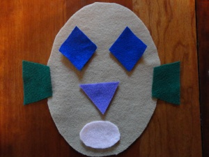 felt face craft