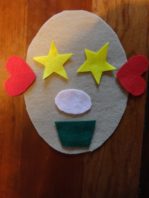 shape faces craft
