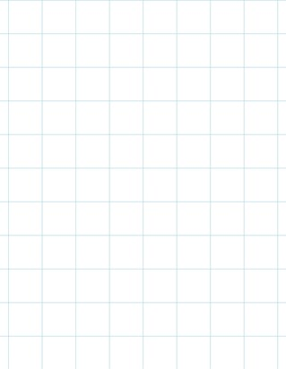 Graph Paper With Legal Page Size, Light Blue Line Color, Line Every Inch