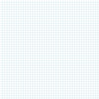 Graph Paper With Legal Page Size, Light Blue Line Color, 5 Lines Per Inch