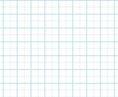 Graph Paper With Letter Page Size, Light Blue Line Color, Heavy Index Line, 2 Lines Per Inch