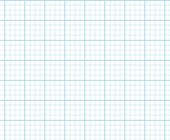 Graph Paper With Letter Page Size, Light Blue Line Color, Heavy Index Line, 4 Lines Per Inch
