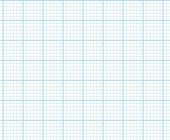 Graph Paper With Letter Page Size, Light Blue Line Color, Heavy Index Line, 6 Lines Per Inch