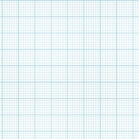 Graph Paper With Letter Page Size, Light Blue Line Color, Heavy Index Line, 7 Lines Per Inch