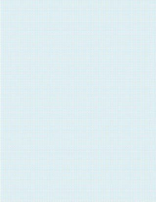 Graph Paper With Letter Page Size, Light Blue Line Color, 15 Lines Per Inch