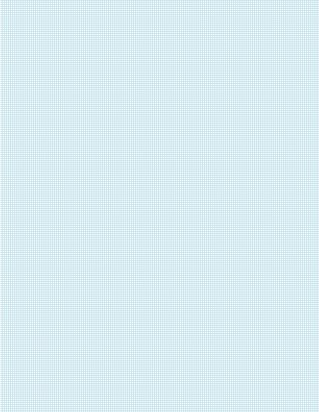 Graph Paper With Letter Page Size, Light Blue Line Color, 18 Lines Per Inch