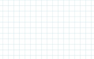 Graph Paper With Letter Page Size, Light Blue Line Color, 2 Lines Per Inch