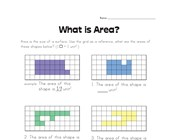 Simple Area Worksheet