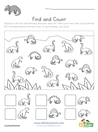 free dinosaur worksheets for first grade