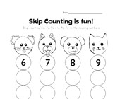 what number comes next worksheet