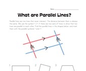 What are Parallel Lines?