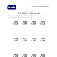 hard multiplication problems worksheet