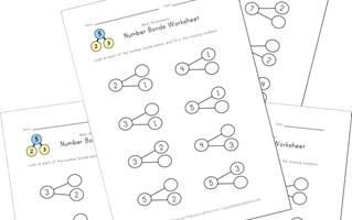 Number Bond Worksheets | All Kids Network