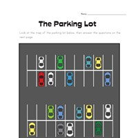 Parking Lot Story Problems Worksheet