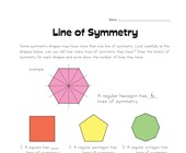 Lines of Symmetry Worksheet 2