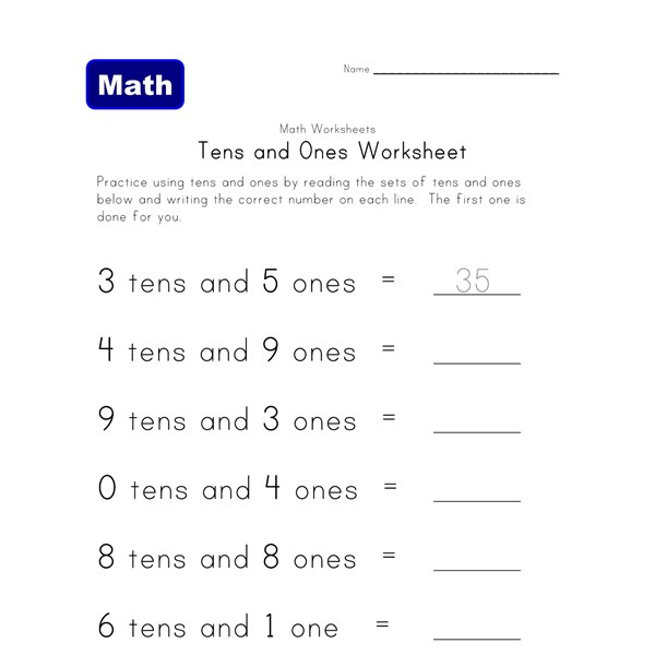 10+ Excellent Free Place Value Worksheets | All Kids Network