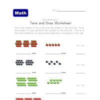 Printables Tens And Ones Worksheets 10 excellent free place value worksheets all kids network