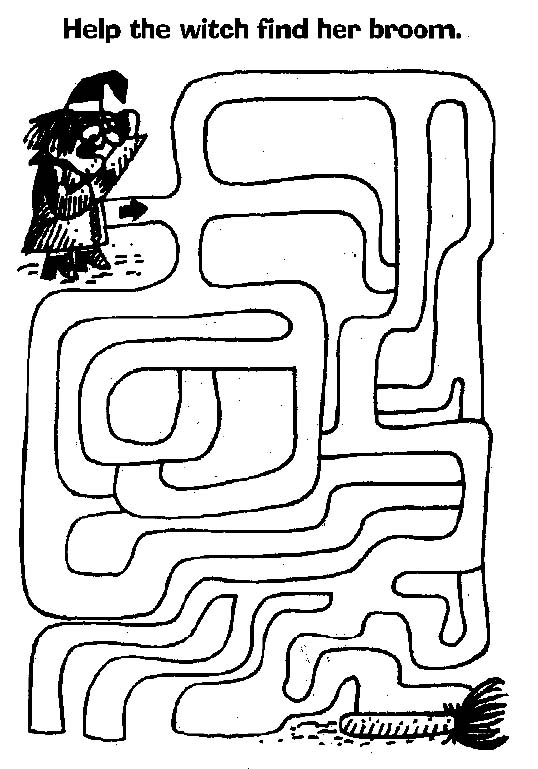 photo about Halloween Mazes Printable called Halloween Mazes All Youngsters Community