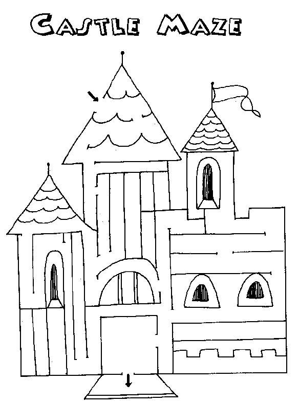 Free Printable Mazes for Kids – Kindergarten Maze Worksheets