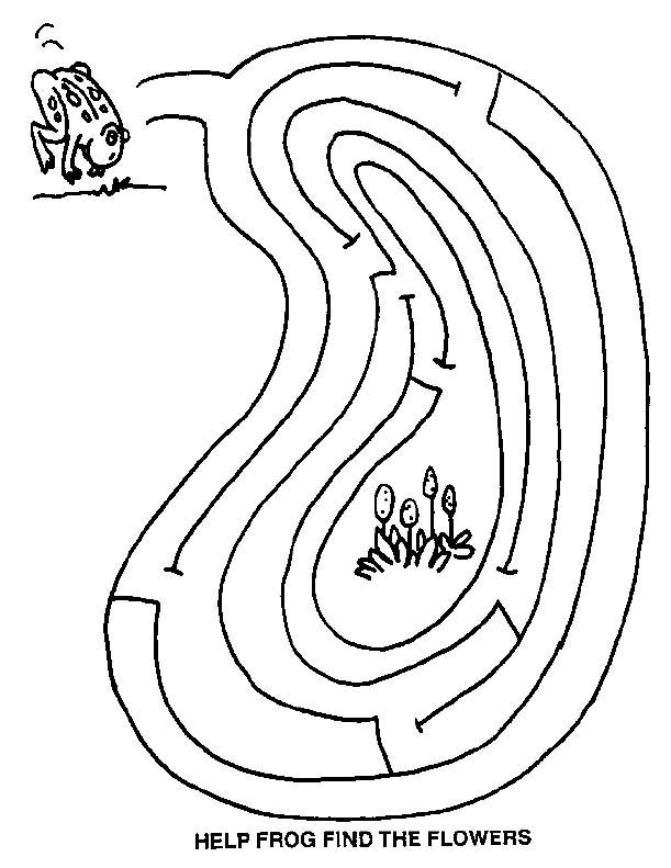 Free Printable Mazes for Kids – Maze Worksheets for Kindergarten