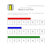 easy measurement length worksheet