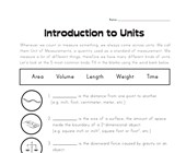 easy measurement height worksheet