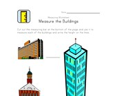measurement worksheet buildings