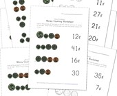 money matching worksheets