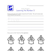 Learning Number 5