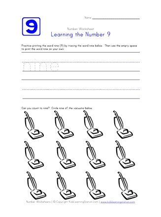Learning Number 9