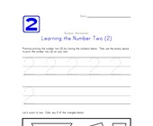 Learning Number Two