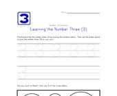 Learning Number Three
