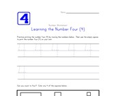 Learning Number Four