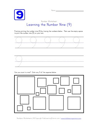 Learning Number Nine
