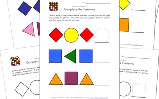 15+ Awesome Free Pattern Worksheets   All Kids Network
