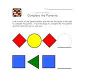 preschool patterns