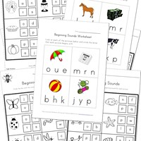 Printables Beginning Sounds Worksheets beginning sounds worksheets all kids network