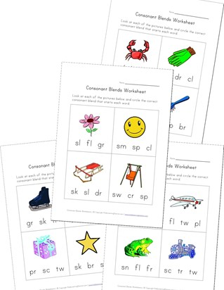 Consonant Blend Worksheets All Kids Network Counting Worksheets For Grade 2 Consonant Blends Worksheets For Grade 2 #19