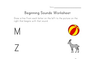 pnonics sounds worksheet
