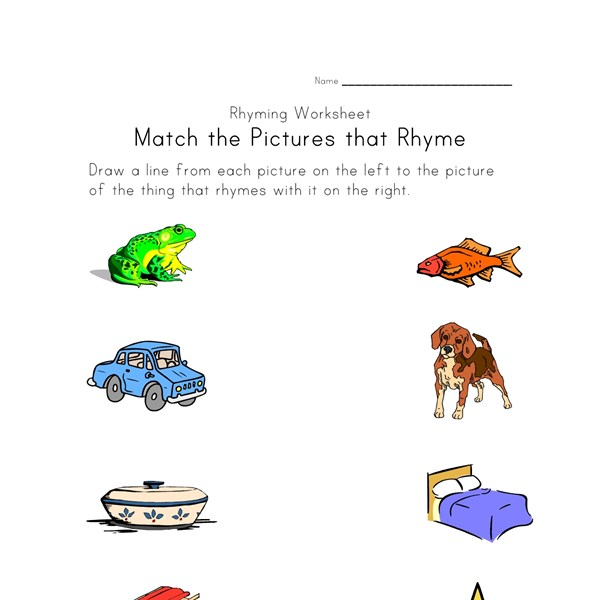 Worksheet Rhyming Words Worksheet rhyming words worksheet version one all kids network