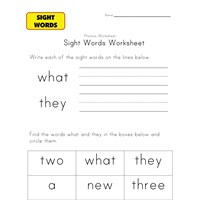 sight words what they
