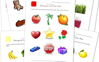 teach children colors printable color worksheets all kids network - Colour Worksheet For Kids