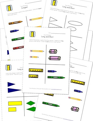 length worksheets