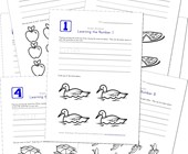 printable numbers worksheets
