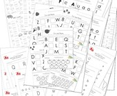 uppercase and lowercase letters worksheets