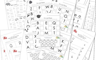 Alphabet Worksheets for Preschool Children | All Kids Network