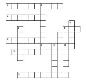Printable Kids Crossword Puzzles All Kids Network